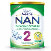 Nestle Nan 2 Kисломолочный молочная смесь, 6+ мес. 400г