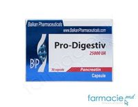 Pro-digestiv caps. 25000 UA  N10x3 (Balkan)