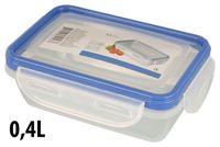 Емкость для хранения продуктов 0.4l, 16X11X5.5cm, пластик