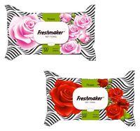 Салфетки влажные Freshmaker Rose 100