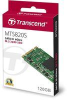 M.2 SATA SSD 120GB Transcend MTS820S TS120GMTS820S