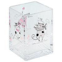 Стакан для ванной комнаты TATKRAFT Acryl funny cats 12950 акрил