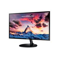 """23.6"""" SAMSUNG """"S24F350FHU"""", Black (PLS, 1920x1080, 4ms, 250cd, LED Mega-DCR, D-Sub+HDMI) (23.5"""" PLS W-LED, 1920x1080 Full-HD, 0.272mm, 4ms (GtG), 250 cd/m², Mega DCR (3000:1), 16.7M Colors, 178°/178° @C/R>10, D-Sub + HDMI, External Power Adapter, Fixed Stand T-Sape (Tilt -1/+22°), VESA Mount 75x75, Magicbright, Magicupscale, Eco saving plus, Eye saver mode, Flicker free, Game mode, Black)"""