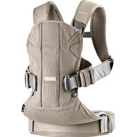 Анатомический рюкзак-кенгуру BabyBjorn One Air Greige 3D Mesh