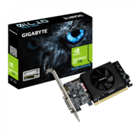 Видеокарта Gigabyte GeForce GT 710 (2 ГБ/GDDR5/64 бит)