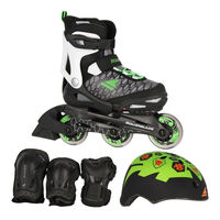 Role copii in compl. Rollerblade Cube, Kids, 07848200T83 (4in1)
