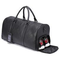 Мужская Дорожная сумка из натуральной кожи, сумка для багажа, спортивная сумка, чемодан для ручной клади