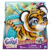 """FurReal Friends E3509 Интерактивная игрушка """"Большой питомец на поводке Тигрёнок"""""""