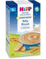 Hipp каша Спокойной ночи органическая молочная с печеньем, 6+мес. 250г