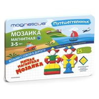 Magneticus набор Магнитная мозаика Путешественник 245 еле