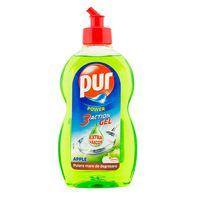 Detergent de vase PUR   450ml 3x ACTION APPLE