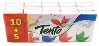 TENTO Платок носовой бумажный TENTO 15шт