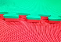 Tatami saltea Eva Puzzle 1х1 m, 20 mm, 60-80 gr/m3 (2452)