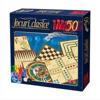D-Toys Настольная игра 50 игр Clasice