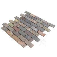 Мозаик Ardezie Multicolora Античизата 3 х 6 см
