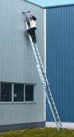 Двухсекционная раздвижная лестница с тросом (2x21ст) Z300 42361