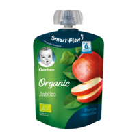 Pireu Gerber Organic de mere (6+ luni), 90g