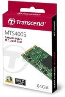 M.2 SATA SSD 64GB Transcend MTS400 TS64GMTS400S