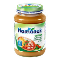 Hamanek рагу из овощей с цыпленком 8+ мес., 190 г