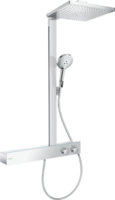 Sistema de dus Hansgrohe Raindance E Showerpipe 300 1jet cu ShowerTablet 600