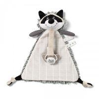 BabyOno игрушка с подвеской для соски Racoon Rocky