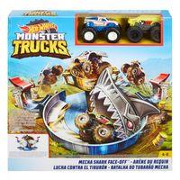 Mattel Hot Wheels Столкновение с механической акулой