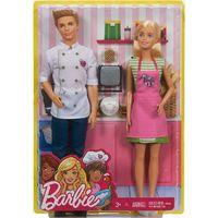 Mattel Barbie şi Ken la cafenea