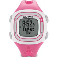 GARMIN Forerunner 10 Pink and White Stylish, 55 x 32, GPS