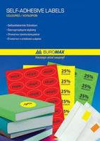Этикетки самоклеющиеся А4 Buromax 1шт, 210x297мм (25л)