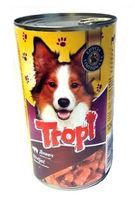 Tropi  консервы для собак с печенью,1,250g