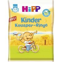 Hipp хрустящие кольца со вкусом сыра, 12+мес. 25г