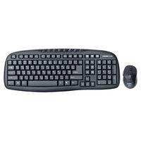 cumpără SVEN Comfort 3400 Wireless, Keyboard & Mouse, 2.4GHz , Multimedia Keyboard(8 keys) + Mouse(5 keys,800/1200/1600dpi), Nano receiver, USB, Black în Chișinău