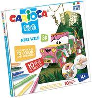 Carioca Create&Color Ms.Wild 3D (42906)