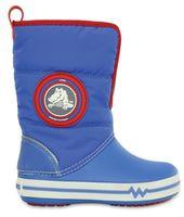 Kids' CrocsLights Gust Boot Varsity Blue / White