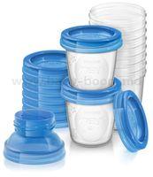 Avent SCF618/10 Контейнеры для хранения молока (10х180 мл)