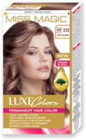 Vopsea p/u păr, SOLVEX Miss Magic Luxe Colors, 108 ml., 117 (7.72) - Blond roze
