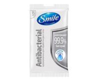 Şerveţele umede Smile, antibacteriale cu spirt, 15 buc.