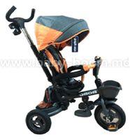 Baby Mix UR-ET-B56 Трицикл серый/оранжевый