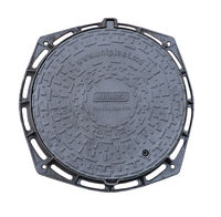 cumpără Capac din fonta dn 600 EN-124 C250 38 kg cu lacat  N (600x805x100) în Chișinău