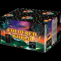 Батарея салютов ART Coloured World 6121