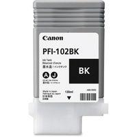 Cartridge Canon PFI-102BK, Black for iPF500/600/700Series, 130ml