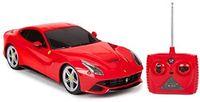 Rastar Ferrari F12 1:18 with steering wheel controller, Red