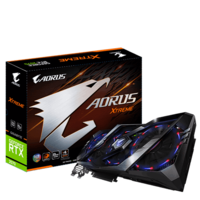 Gigabyte GV-N2070AORUS X-8GC GeForce RTX™ 2070 XTreme 8Gb GDDR6, 256 bit