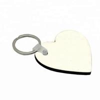 MDF брелок для сублимации Heart