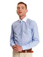 Рубашка TOP SECRET Голубой skl2839