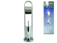 Подставка для щeтки и держатель для бумаги WC 80cm, нерж