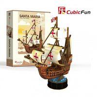 3D PUZZLE Santa Maria