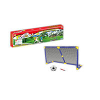 Ворота футбольные пластиковые детские 100х51х37 см 25079 (4553)