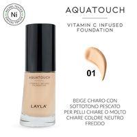 Тональная основа Aquatouch с витамином С