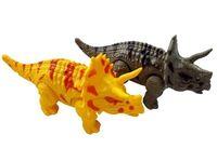 Динозавр шагающий музыкальный 22cm